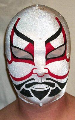 NEW KABUKI RED SAMURAI MASK HALLOWEEN COSTUME WRESTLING