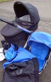 Babystyle Oyster Travel System in Blue REDUCED