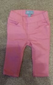 Baby Gap jeans pink 3 - 6 months great condition
