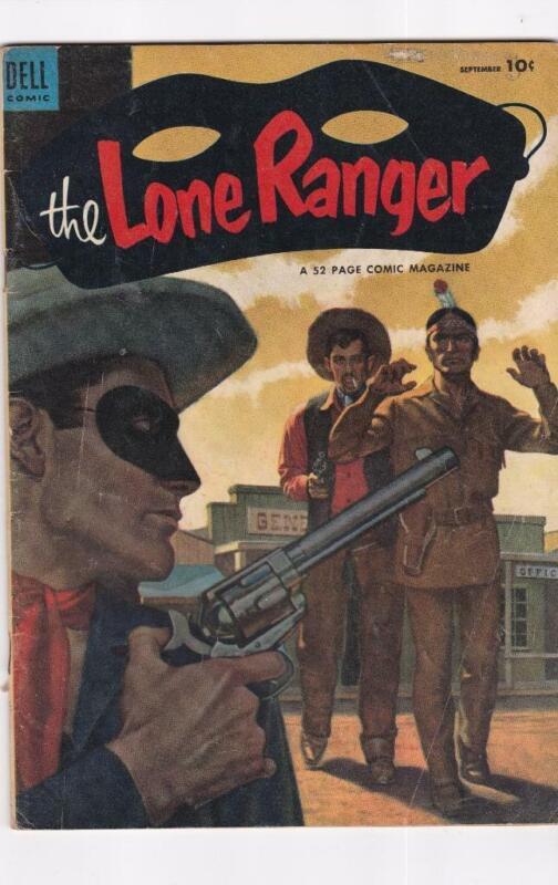 Lone Ranger #63  DELL Comics (1953)