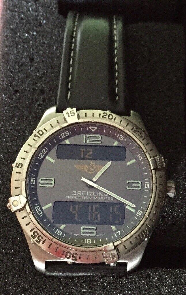 Genuine Breitling Aerospace Titanium Men's watch