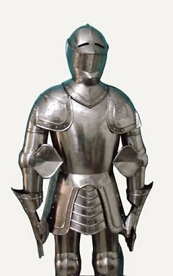 Full Knight Suit of Armor 15th Century Combat Full Body Armour Suit & Stand