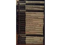 Huge bundle of 21 PlayStation 2 games