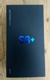 Samsung Galaxy S8 PLUS - 64GB - Midnight Black.