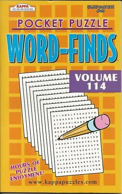 Word Search Book (KAPPA POCKET PUZZLE EXCITING WORD SEARCH WORD FINDS FUN PUZZLE BOOK VOLUME)