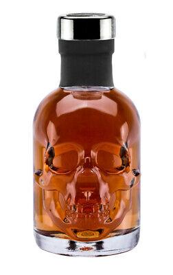 Rum 15 J. 0,2L Piraten Skull Totenkopf Flasche - Piraten Flasche Rum
