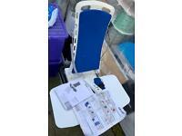 Electric bath chair