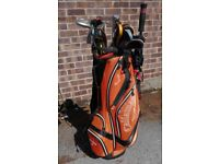 *REDUCED* King Cobra 34001/XH Golf clubs for sale (SW, Gap, PW, 9 - 4) + Woods and Putter
