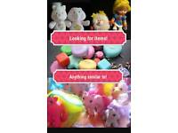 Looking for my little pony care bear polly pocket or similar
