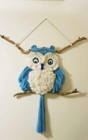 Macrame owl hand made