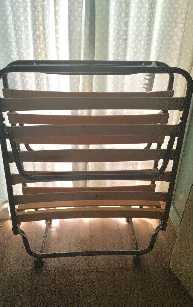 Folding Put U Up Bed Frame And Futon In Southsea Hampshire Gumtree