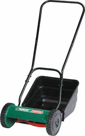 Qualcast Panther 380 Hand Powered Cylinder Lawnmower (38 cm Cutting Width) FREE DELIVERY