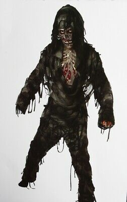 Boys Rotten To Core Night of the Living DEAD Hallloween Costume Purim L  12