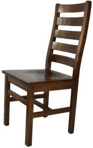 Canadian Ladder Back Dining Chairs For Your Kitchen Renovation Project - Free Shipping