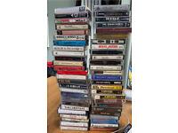 Job lot of 50 cassettes.