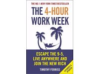 The 4-Hour Workweek Book by Timothy Ferriss (Rate: 3.8/5) #1 Best Seller