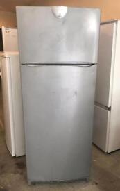 Indesit Silver Fridge Freezer (Fully Working & 3 Month Warranty)