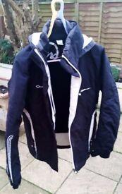 Quechua Ladies/Girls Black Ski Jacket