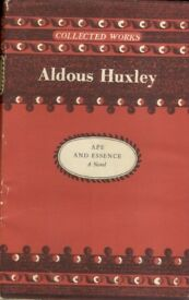 Ape and Essence by Aldous Huxley (Hardback, 1971)