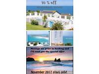 Newquay ***10% off November stays***