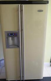Rangemaster American fridge freezer cream. Spares or repairs