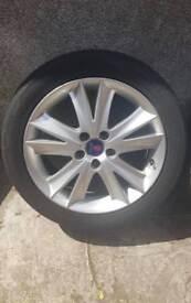 "SAAB/VAUXHALL 17""Alloy Wheels"