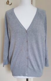 Brand New Red Herring Grey Cardigan - SIZE 18