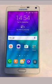 Samsung galaxy note 4 UNLOCKED 32gb