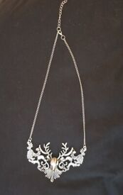 Stag Necklace Bridal Jewellery