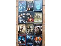 Children / Kids / Adult 12 DVDs - Adventure - Lord of the Rings, Hellboy etc
