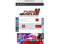 Online Supplements Business for sell