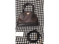 Used Coach handbag and crossbody bag