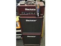 Blackstar HT5 Amp & 2 x 10 Cab Stack