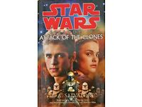 Star Wars 'Attack Of The Clones' Hardback Book
