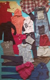 Age 7-9 ** HUGE BUNDLE OF GIRL CLOTHES** GREAT USED CONDITION