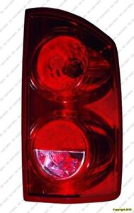Tail Lamp Passenger Side [2007-2008 1500] [2007-2009 2500 3500] Mega Cab High Quality Dodge Ram