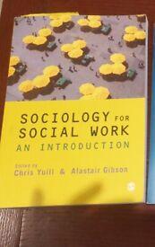 Sociology for social work