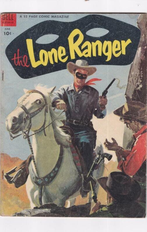 Lone Ranger #72  DELL Comics (1954)
