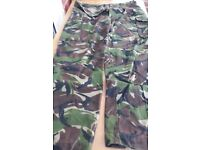 Army Issue Men's Combat Trousers - Leg 80cms