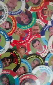 Merlin's Premier League Pogs   1995 edition   RARE  