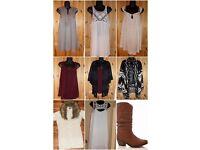 Ladies Clothing Size 14 Next Peococks New Look Read Description Tops, Tunics, Cardigans Boots