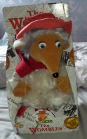 Collectable Wombles Orinoco 12 Inch Talking Soft Toy (Boxed)