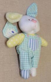 NWT Boots Patchwork Bunny