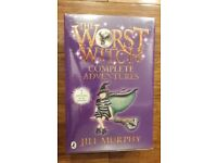 Brand new set of Worst Witch books