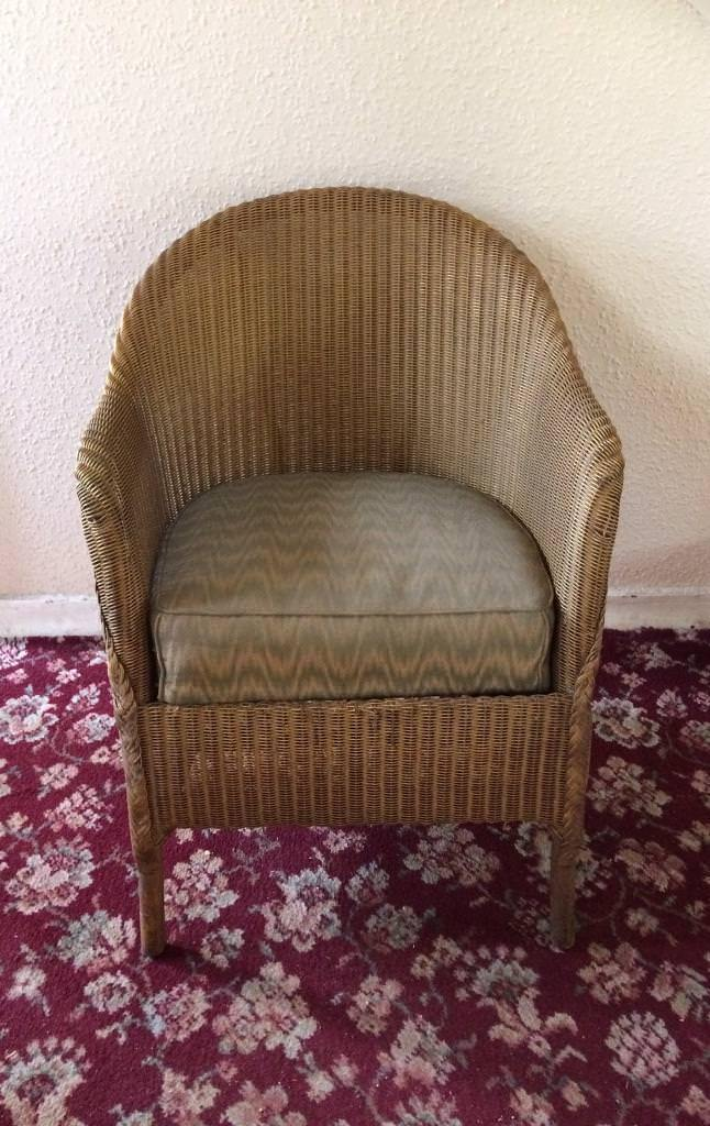 Ordinaire Vintage Wicker Chair