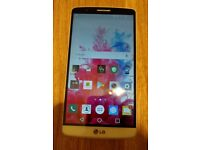 LG G3 great condition - professionally CHECKED - 16Gb (3Gb RAM) unlocked mobile phone +case
