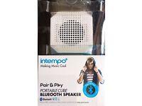 Intempo Pair & Play Portable Cube Bluetooth Speaker
