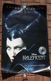 MALEFICENT - Angelina Jolie - Disney Poster (Sleeping Beauty)