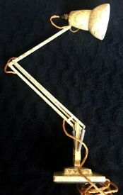 Vintage 1930's Herbert Terry Rare Anglepoise Model 1227 Articulated Desk lamp Original for sale