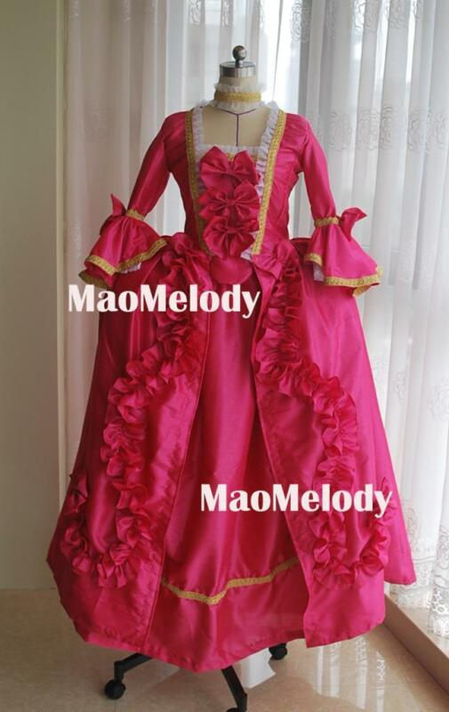 Marie Antoinette Baroque Cosplay Costume Dress